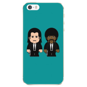Silikonové odolné pouzdro iSaprio Pulp Fiction na mobil Apple iPhone 5 / 5S / SE