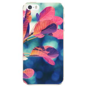 Silikonové odolné pouzdro iSaprio Autumn 01 na mobil Apple iPhone 5 / 5S / SE