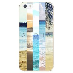 Silikonové odolné pouzdro iSaprio Aloha 02 na mobil Apple iPhone 5 / 5S / SE