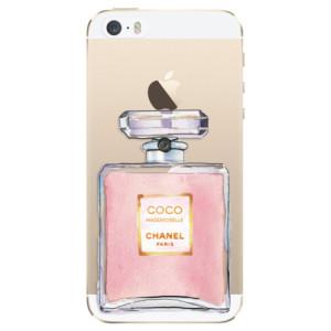 Silikonové odolné pouzdro iSaprio Chanel Rose na mobil Apple iPhone 5 / 5S / SE - poslední kus za tuto cenu