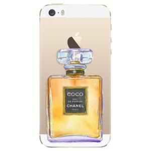 Silikonové odolné pouzdro iSaprio Chanel Gold na mobil Apple iPhone 5 / 5S / SE