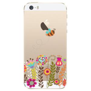 Silikonové odolné pouzdro iSaprio Bee 01 na mobil Apple iPhone 5 / 5S / SE