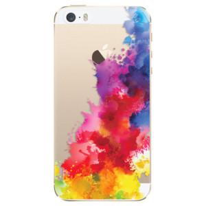 Silikonové odolné pouzdro iSaprio Color Splash 01 na mobil Apple iPhone 5 / 5S / SE