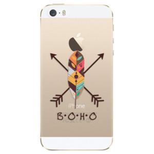 Silikonové odolné pouzdro iSaprio BOHO na mobil Apple iPhone 5 / 5S / SE