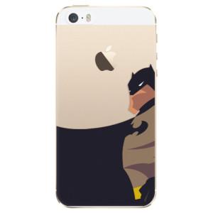 Silikonové odolné pouzdro iSaprio BaT Comics na mobil Apple iPhone 5 / 5S / SE