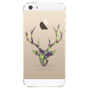Silikonové odolné pouzdro iSaprio Deer Green na mobil Apple iPhone 5 / 5S / SE