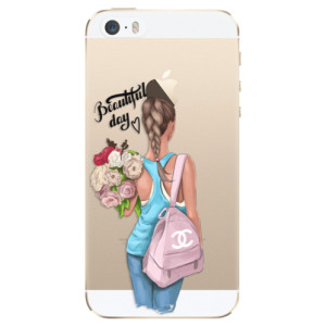 Silikonové odolné pouzdro iSaprio Beautiful Day na mobil Apple iPhone 5 / 5S / SE