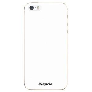 Silikonové odolné pouzdro iSaprio 4Pure bílé na mobil Apple iPhone 5 / 5S / SE