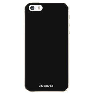 Silikonové odolné pouzdro iSaprio 4Pure černé na mobil Apple iPhone 5 / 5S / SE