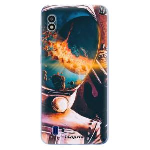 Silikonové odolné pouzdro iSaprio Astronaut 01 na mobil Samsung Galaxy A10