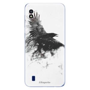 Silikonové odolné pouzdro iSaprio Dark Bird 01 na mobil Samsung Galaxy A10