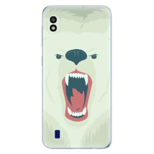 Silikonové odolné pouzdro iSaprio Angry Bear na mobil Samsung Galaxy A10
