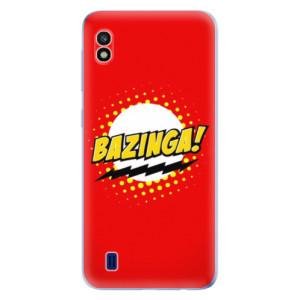 Silikonové odolné pouzdro iSaprio Bazinga 01 na mobil Samsung Galaxy A10