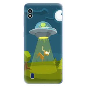 Silikonové odolné pouzdro iSaprio Alien 01 na mobil Samsung Galaxy A10
