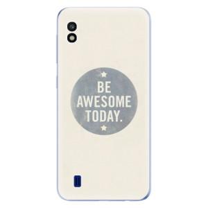 Silikonové odolné pouzdro iSaprio Awesome 02 na mobil Samsung Galaxy A10