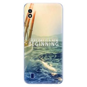 Silikonové odolné pouzdro iSaprio Beginning na mobil Samsung Galaxy A10