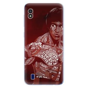Silikonové odolné pouzdro iSaprio Bruce Lee na mobil Samsung Galaxy A10
