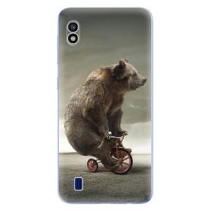 Silikonové odolné pouzdro iSaprio Bear 01 na mobil Samsung Galaxy A10