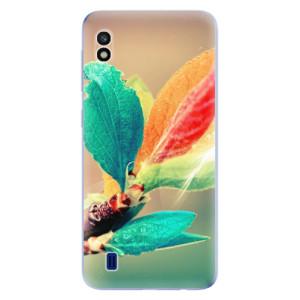Silikonové odolné pouzdro iSaprio Autumn 02 na mobil Samsung Galaxy A10