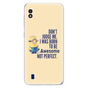 Silikonové odolné pouzdro iSaprio Be Awesome na mobil Samsung Galaxy A10