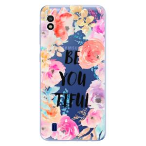 Silikonové odolné pouzdro iSaprio BeYouTiful na mobil Samsung Galaxy A10