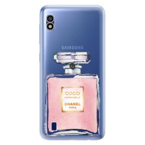 Silikonové odolné pouzdro iSaprio Chanel Rose na mobil Samsung Galaxy A10