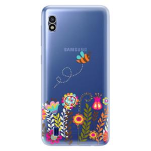 Silikonové odolné pouzdro iSaprio Bee 01 na mobil Samsung Galaxy A10