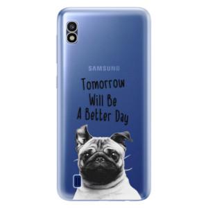 Silikonové odolné pouzdro iSaprio Better Day 01 na mobil Samsung Galaxy A10