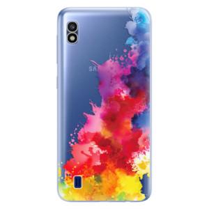 Silikonové odolné pouzdro iSaprio Color Splash 01 na mobil Samsung Galaxy A10