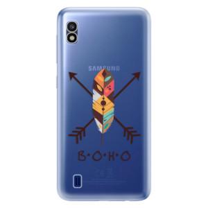 Silikonové odolné pouzdro iSaprio BOHO na mobil Samsung Galaxy A10
