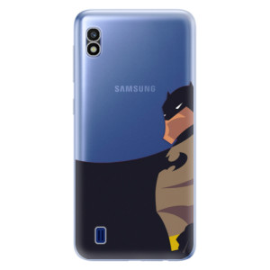 Silikonové odolné pouzdro iSaprio BaT Comics na mobil Samsung Galaxy A10