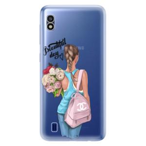 Silikonové odolné pouzdro iSaprio Beautiful Day na mobil Samsung Galaxy A10