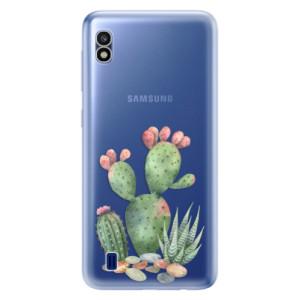 Silikonové odolné pouzdro iSaprio Cacti 01 na mobil Samsung Galaxy A10