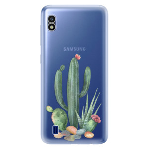 Silikonové odolné pouzdro iSaprio Cacti 02 na mobil Samsung Galaxy A10