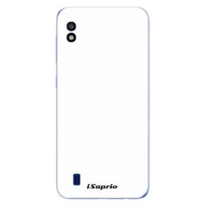 Silikonové odolné pouzdro iSaprio 4Pure bílé na mobil Samsung Galaxy A10