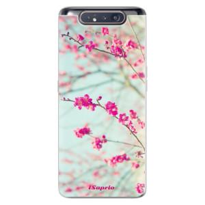 Silikonové odolné pouzdro iSaprio Blossom 01 na mobil Samsung Galaxy A80