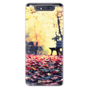 Silikonové odolné pouzdro iSaprio Bench 01 na mobil Samsung Galaxy A80