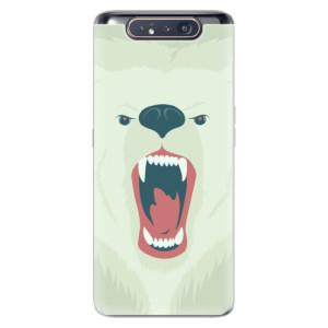 Silikonové odolné pouzdro iSaprio Angry Bear na mobil Samsung Galaxy A80