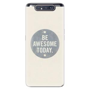 Silikonové odolné pouzdro iSaprio Awesome 02 na mobil Samsung Galaxy A80