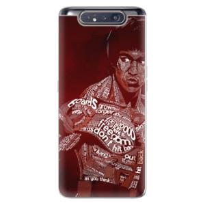 Silikonové odolné pouzdro iSaprio Bruce Lee na mobil Samsung Galaxy A80