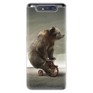 Silikonové odolné pouzdro iSaprio Bear 01 na mobil Samsung Galaxy A80