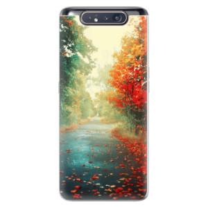 Silikonové odolné pouzdro iSaprio Autumn 03 na mobil Samsung Galaxy A80