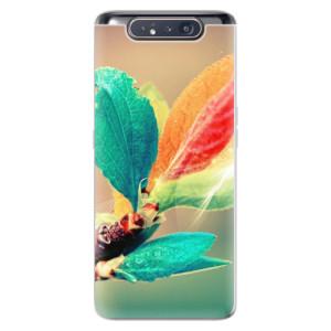Silikonové odolné pouzdro iSaprio Autumn 02 na mobil Samsung Galaxy A80