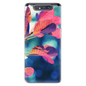 Silikonové odolné pouzdro iSaprio Autumn 01 na mobil Samsung Galaxy A80