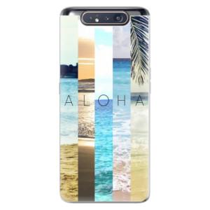 Silikonové odolné pouzdro iSaprio Aloha 02 na mobil Samsung Galaxy A80