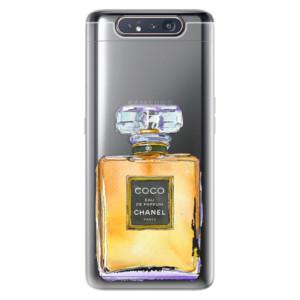 Silikonové odolné pouzdro iSaprio Chanel Gold na mobil Samsung Galaxy A80