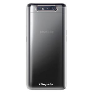Silikonové odolné pouzdro iSaprio 4Pure čiré bez potisku na mobil Samsung Galaxy A80