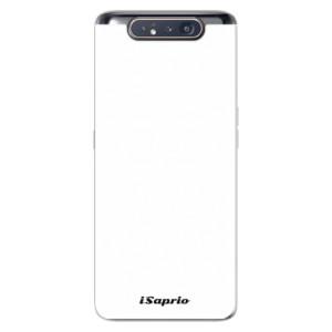 Silikonové odolné pouzdro iSaprio 4Pure bílé na mobil Samsung Galaxy A80