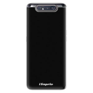 Silikonové odolné pouzdro iSaprio 4Pure černé na mobil Samsung Galaxy A80