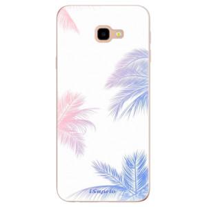 Silikonové odolné pouzdro iSaprio Digital Palms 10 na mobil Samsung Galaxy J4 Plus